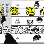【呪術廻戦】強さランキングTOP10!学生のみなら最強はだれ!?階級も含めて勝手にランキングしてみた!